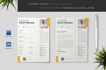 Resume & Cover Letter Template