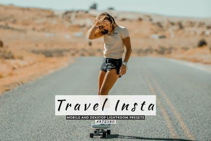 Travel Insta Lightroom Presets Dekstop and Mobile