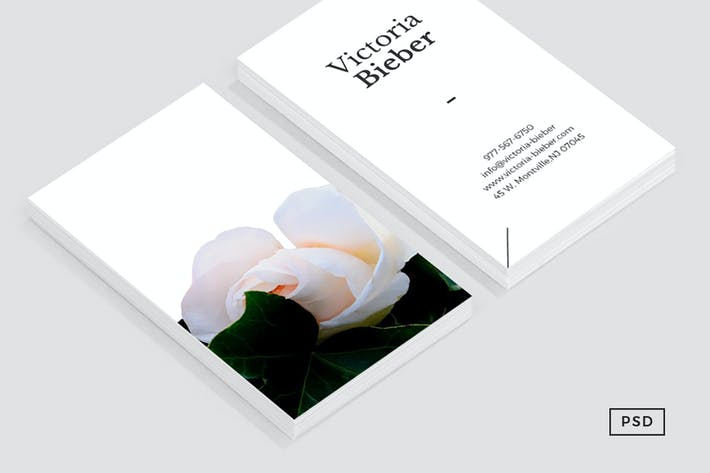 Thumbnail for Rose Business Card Template