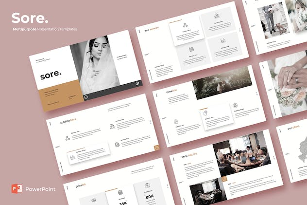 Sore - Powerpoint Template
