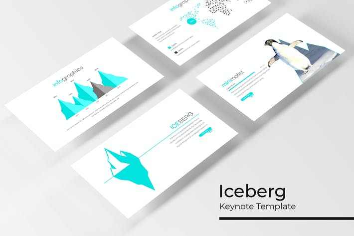 Thumbnail for Iceberg - Keynote Template
