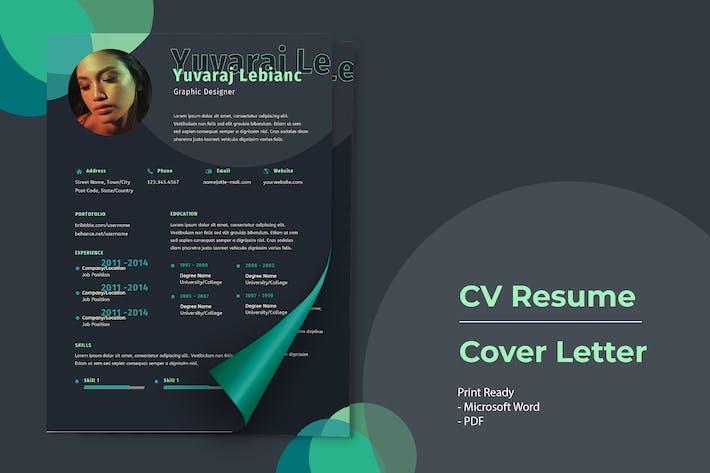 Thumbnail for Yuvraj Leblanc - CV Resume Template