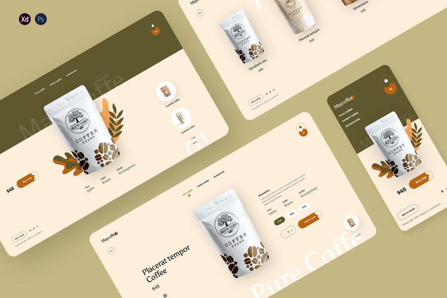 MayCoffee - Coffee Store Template