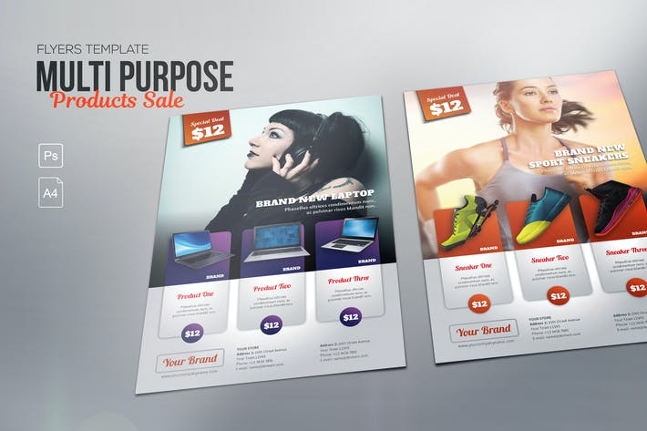 Thumbnail for Multipurpose Product Flyer - Photoshop