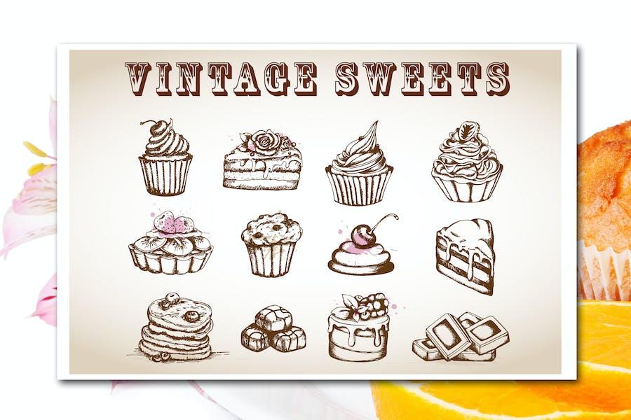 Vintage Süßigkeiten