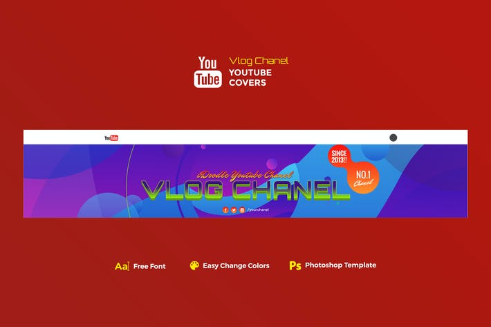 Thumbnail for Vlog Youtube Chanel