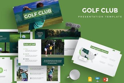Golf Club - Presentation Template