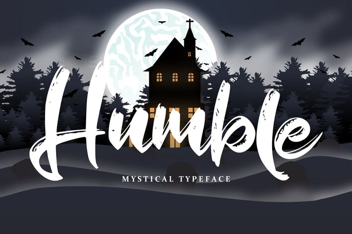 Cover Image For Humble | Mystical Typeface