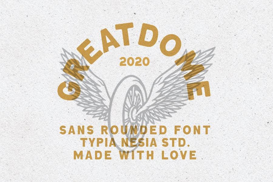 Great Dome Vintage Sans