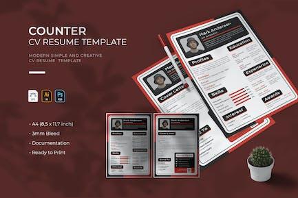 Counter   CV & Resume