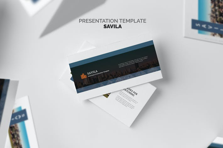 Thumbnail for Savila : Property & Real Estate Agent Keynote