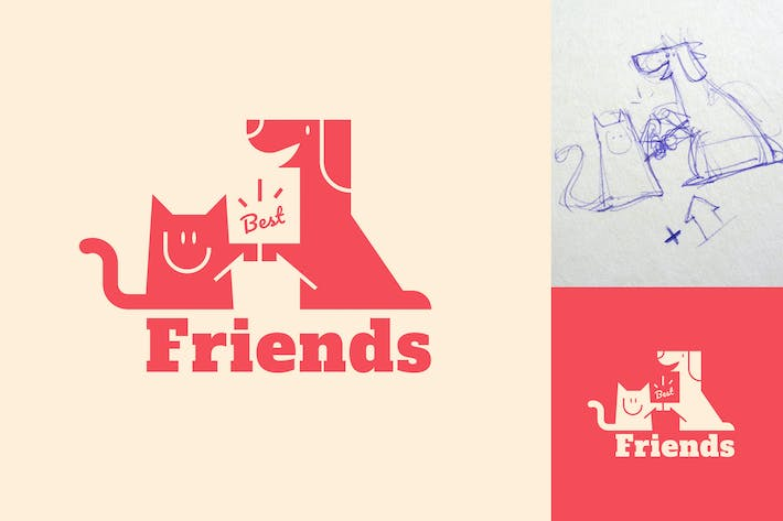 Thumbnail for Best Friends Logo