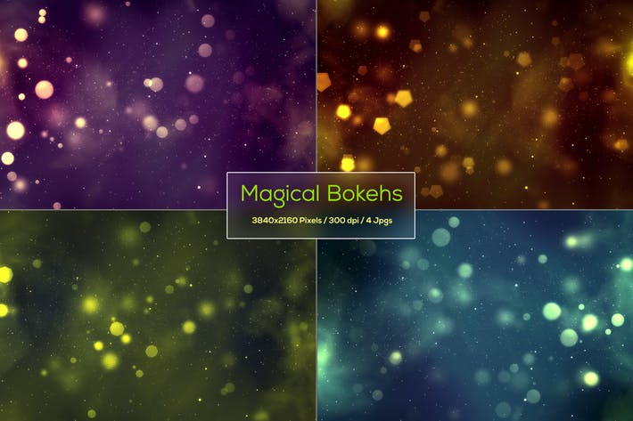 Thumbnail for Magical Bokeh Backgrounds