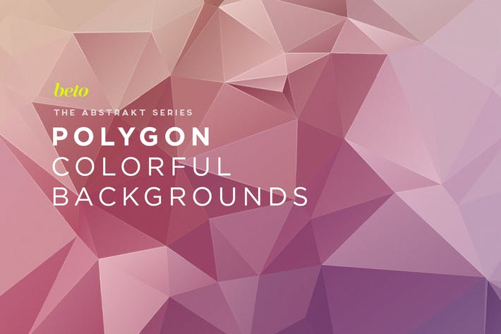 Thumbnail for Polygon Abstract Backgrounds V12