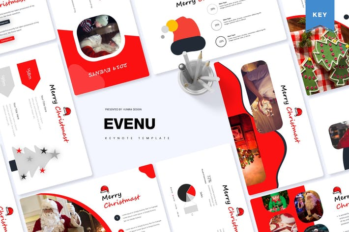 Thumbnail for Evenue | Keynote Template