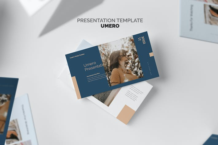 Thumbnail for Umero : Fashion Agency Business Google Slides