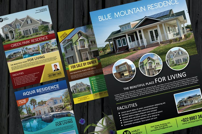 Cover Image For Real Estate Flyer