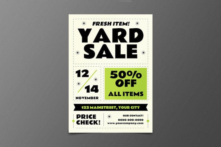 Classic Yard Sale Flyer