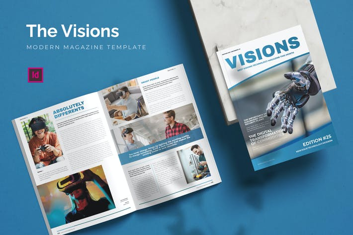 Thumbnail for Visions - Magazine