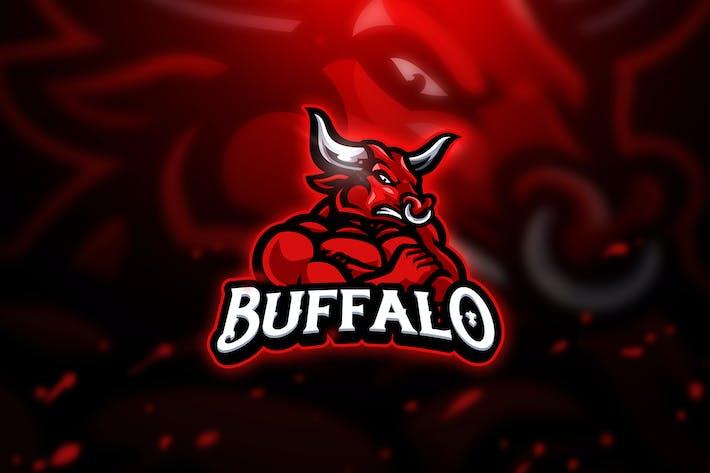 Thumbnail for Buffalo 2 - Mascot & Esport Logo
