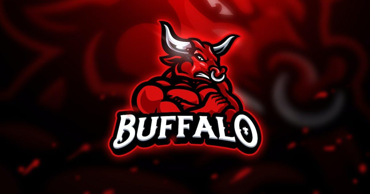 Download Buffalo 2 - Mascot & Esport Logo by aqrstudio