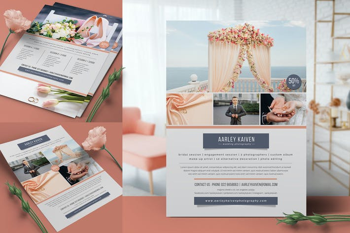 Thumbnail for Hochzeitsfotografie Flyer