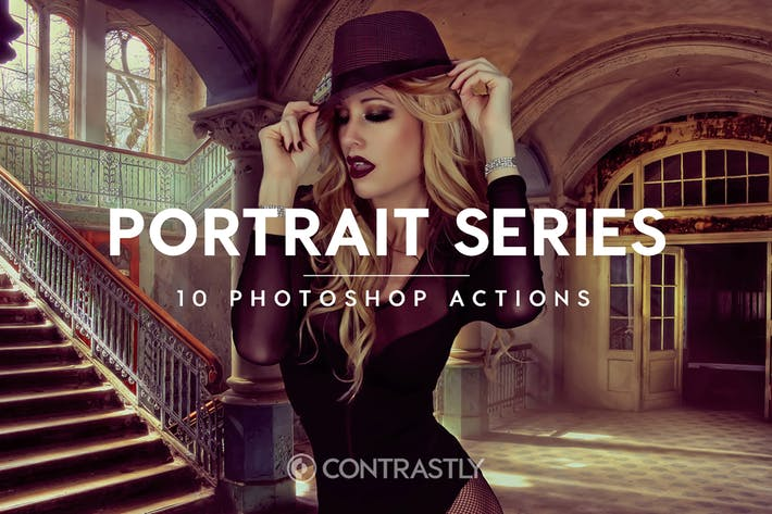 Thumbnail for Portrait Series Photoshop Actions