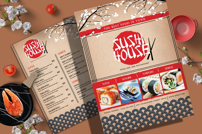 Thumbnail for Sushi Menu