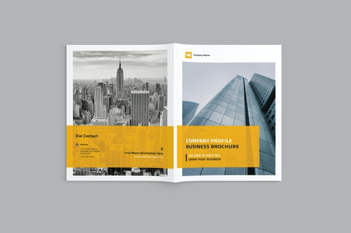 Thumbnail for Daedalus - A4 Company Profile Brochure Template