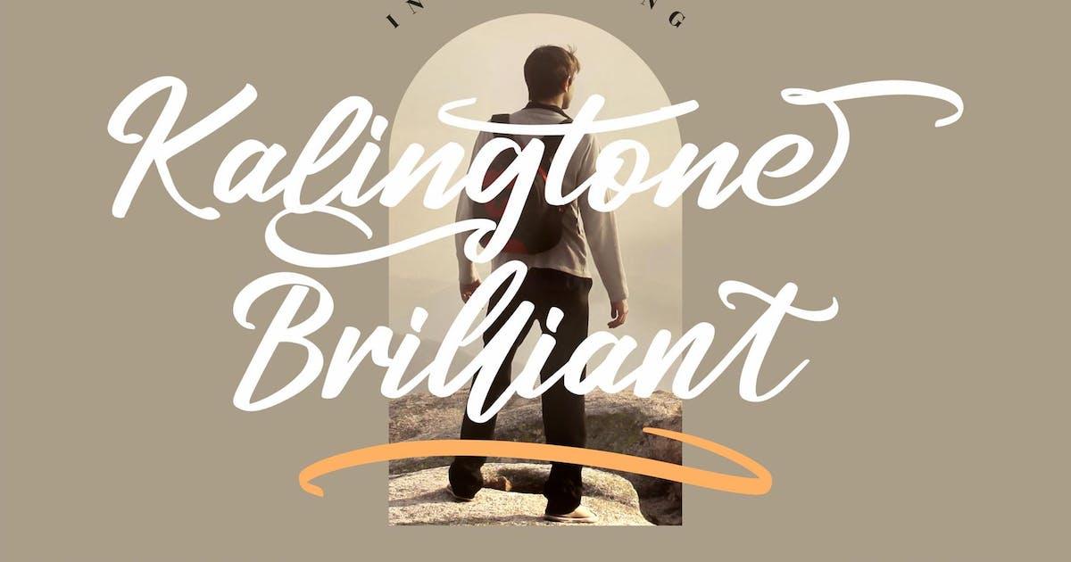 Download Kalingtone Brilliant Script LS by GranzCreative