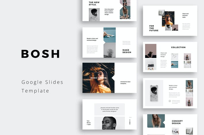 Thumbnail for BOSH - Google Slides Template