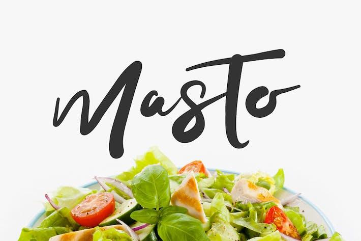 Thumbnail for Masto Tipo de letra
