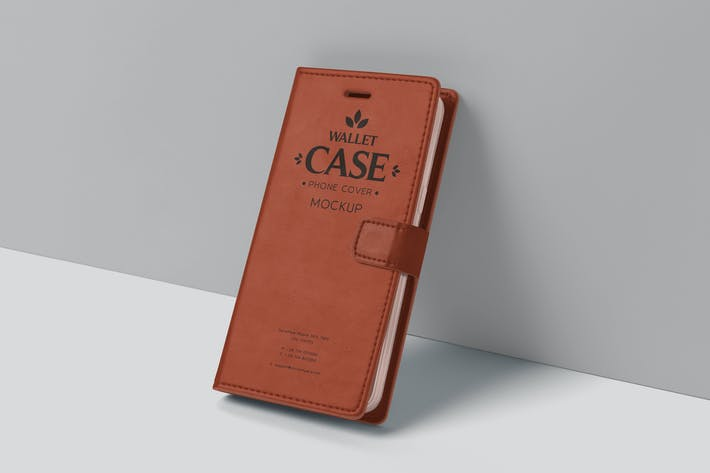 Wallet Case Phone Cover Mockups