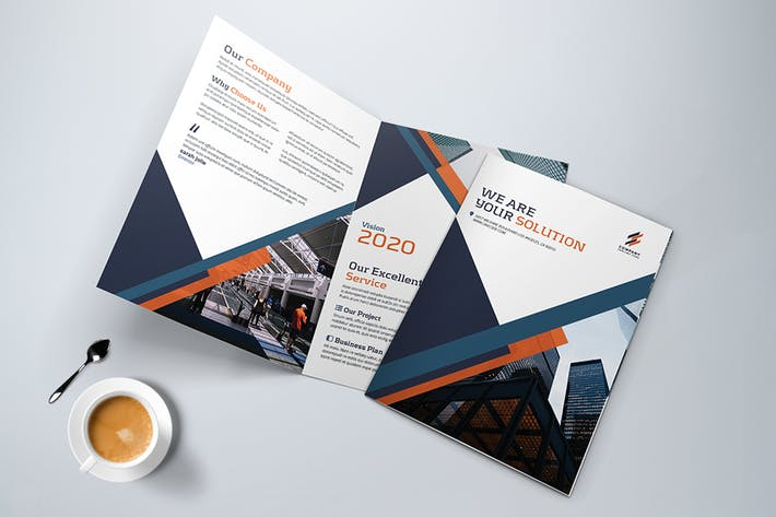 Thumbnail for Bifold Creative Brochure