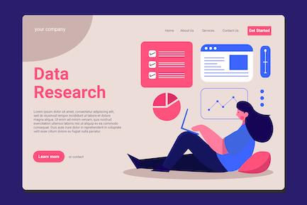 Data Analitics - Landing Page