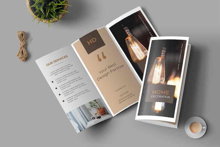Cover Image For Properties Trifold Brochure