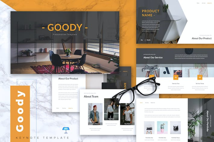 Thumbnail for GOODY - Business Keynote Template