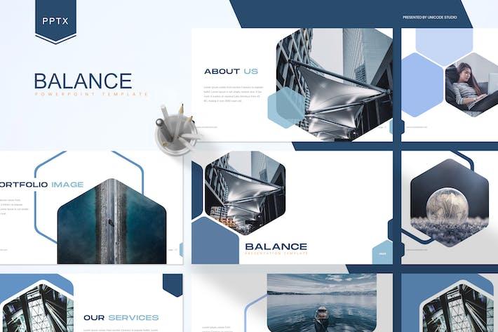 Thumbnail for Баланс — бизнес-Шаблон Powerpoint