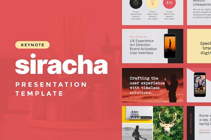 Sriracha — Keynote Presentation Template