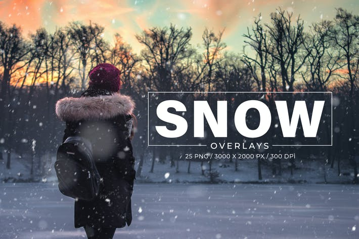 Thumbnail for 25 Snow Photoshop Overlays