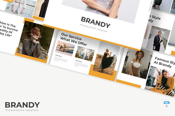 Thumbnail for Brandy - Keynote Template
