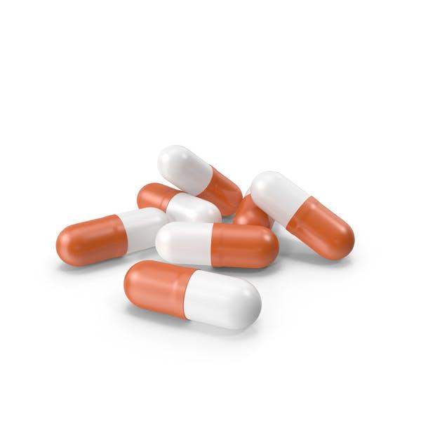 Таблетки Капсулы Оранжевый