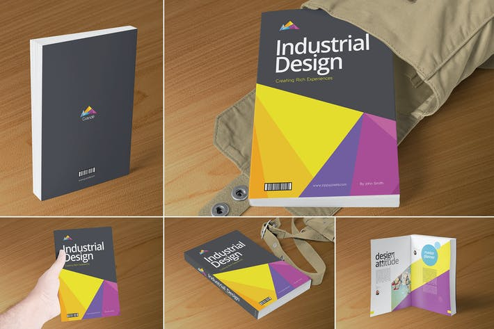 Thumbnail for Professional Book Cover Mockups