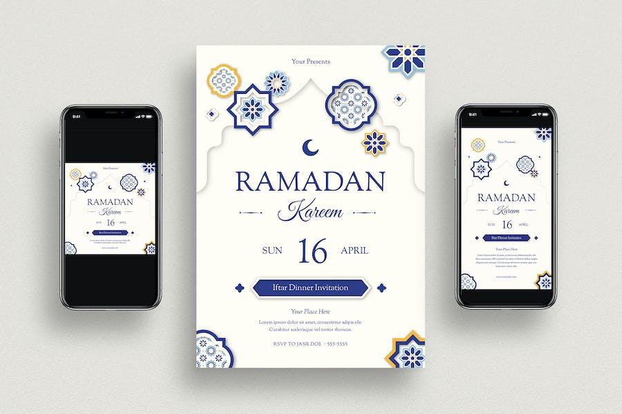 Ramadan Kareem Flyer & Social Media
