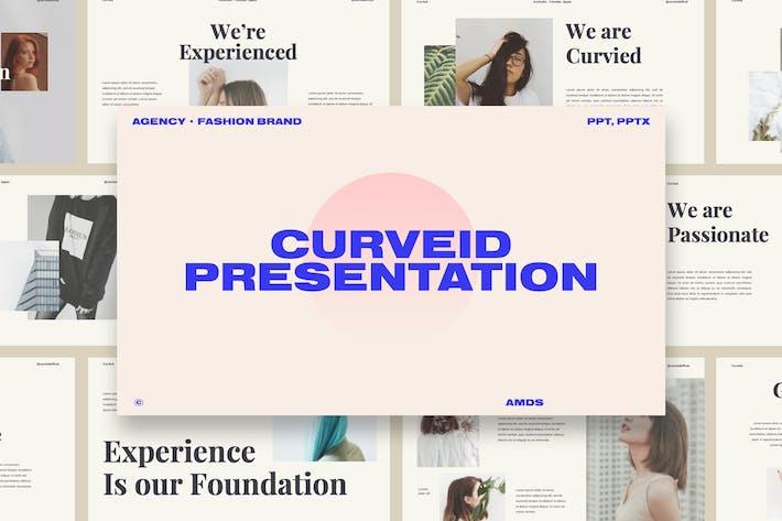 Thumbnail for Curveid - Fashion Brand Presentation