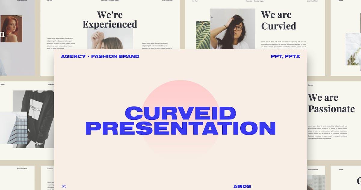 Download Curveid - Fashion Brand Presentation by Incools
