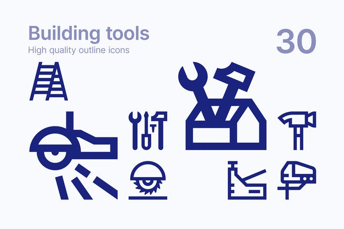 Thumbnail for Building Tools Icons