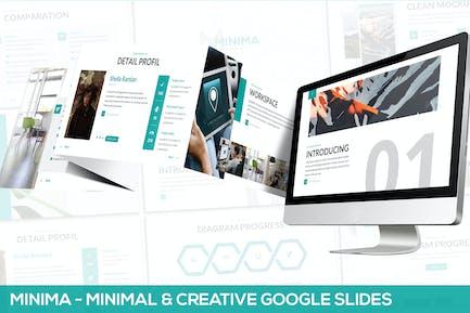 Minima - Minimal & Creative Google Slides Template