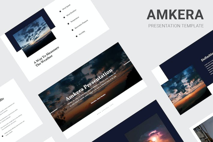 Thumbnail for Amkera - Education About Weather Google Slides
