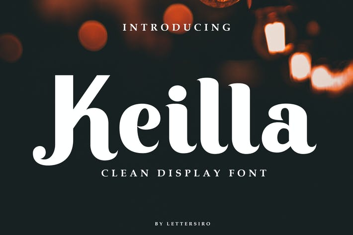 Cover Image For Keilla - Clean Display Font